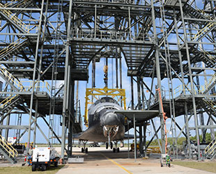 > Winds delay space shuttle Discovery's lift atop Smithsonian-bound jet - Photo posted in The Faculty of Science | Sign in and leave a comment below!