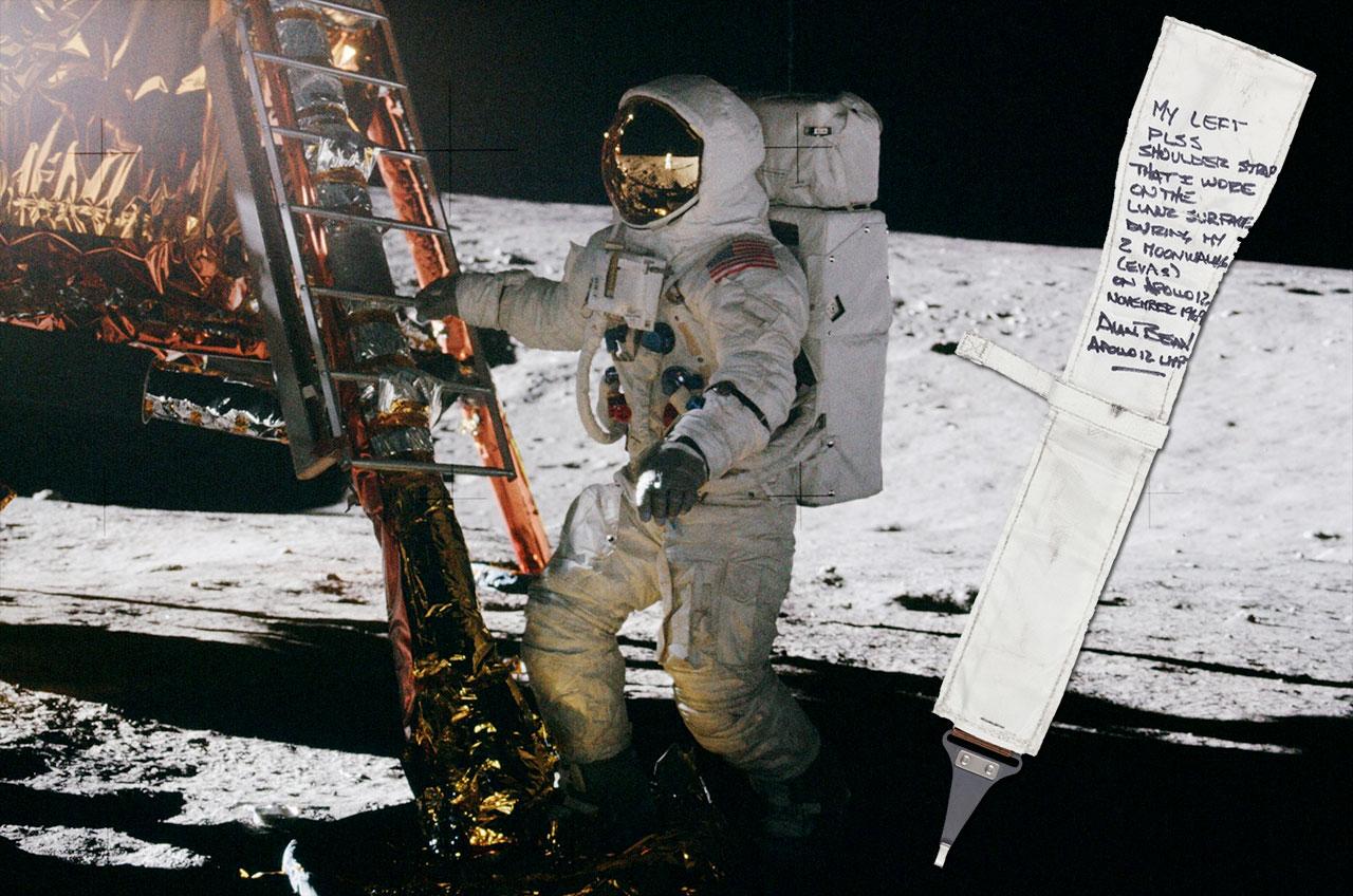 Apollo 12 astronaut's moon mementos up for auction ...