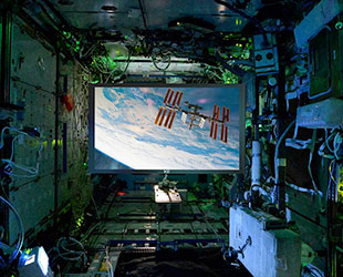 Astronauts On Space Station Get First Zero Gravity