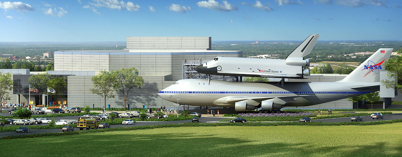 Houston museum to top historic NASA jet with mock space ...
