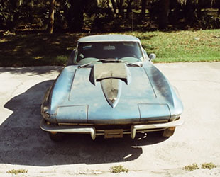 This 1967 Chevrolet Corvette has attracted bids on eBay nearing $250,000. Its seller says it was owned by Neil Armstrong. (eBay)