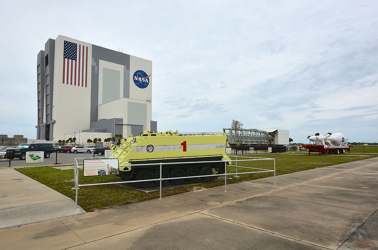 Historic space shuttle access arm reaches out to public on ...