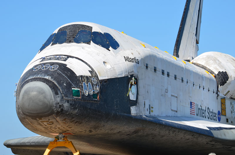 Atlantis departs hangar for final space shuttle flight