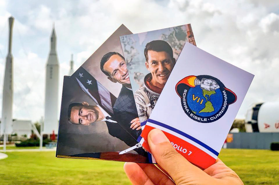 Kennedy Space Center marks Apollo 50th with mission trading