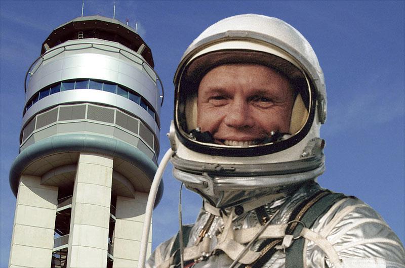 Ohio airport renamed for original Mercury astronaut John ...