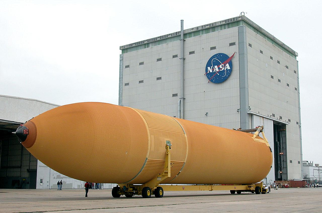 space shuttle external tank - photo #6