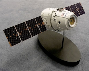 SpaceX Dragon Capsule Model (page 2) - Pics about space