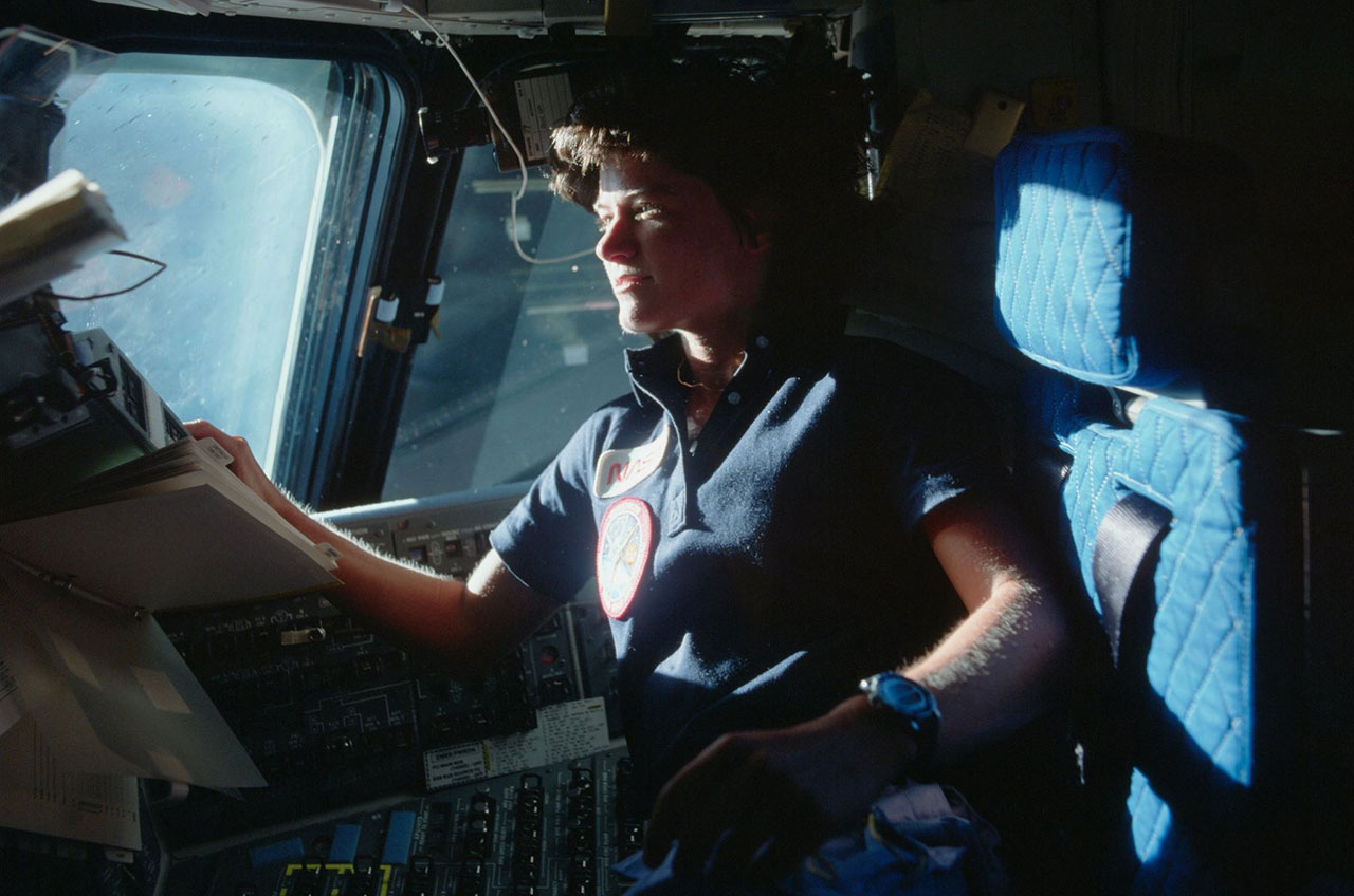 space shuttle challenger sally ride - photo #24