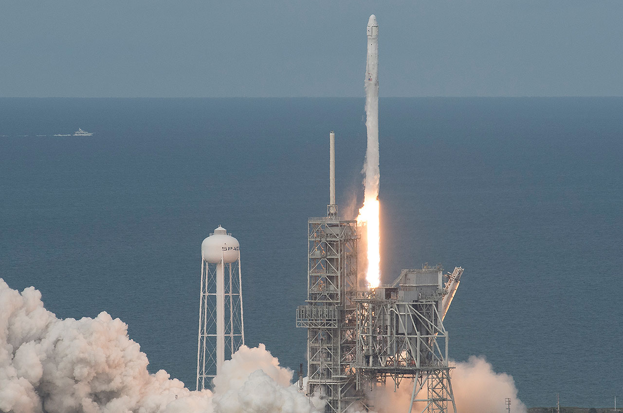 SpaceX launches first 'used' Dragon cargo capsule on 100th ...