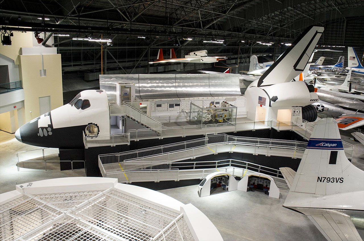 Air Force Museum Opens Expanded Space Gallery In New