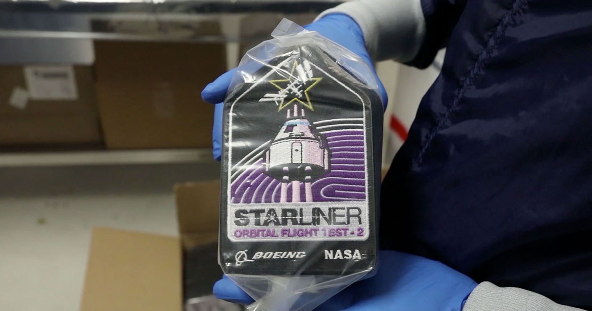 HBCU flags and 'Rosie' coins among Boeing Starliner OFT-2 cargo - collectSPACE.com