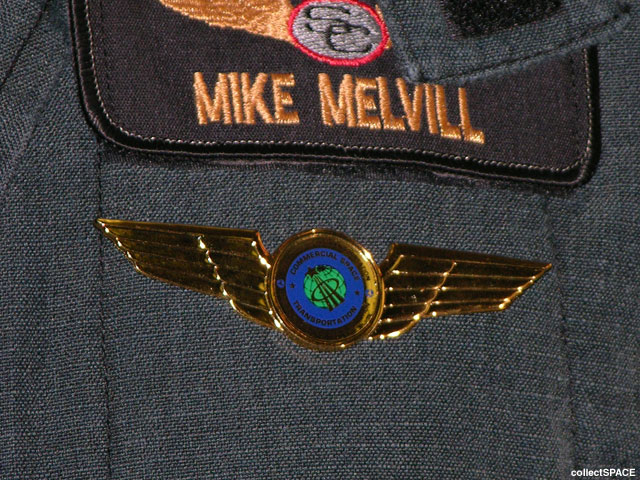 nasa astronaut wings logo - photo #17