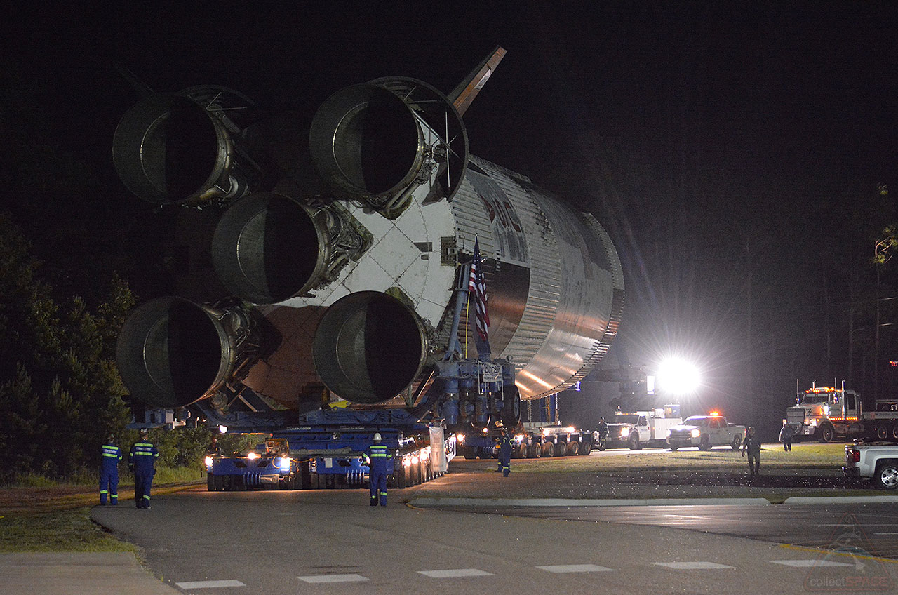 Apollo 19 Saturn V Stage Arrives At Infinity Science