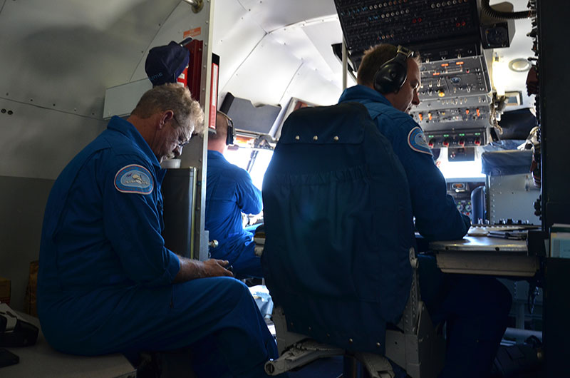 In-flight exclusive: Astronaut soars with Seattle's space shuttle trainer