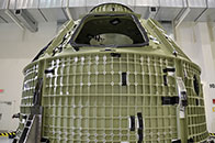 First Space Bound Orion Crew Capsule Arrives At Nasa S