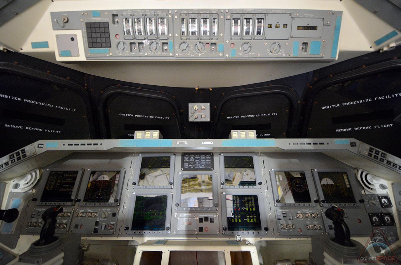 space shuttle original cockpit - photo #15
