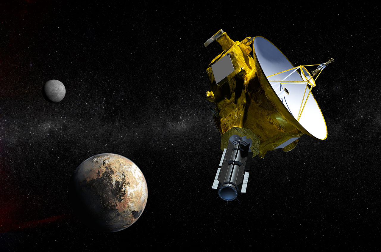 First Flybys From Mercury To Pluto A Brief History Of Solar System - Solar system map with moons
