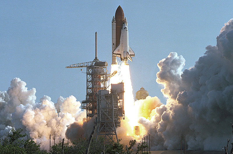 space shuttle discovery 1984 - photo #2