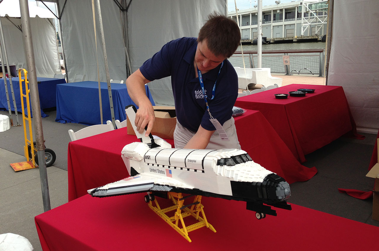 lego space shuttle brick builder - photo #2