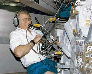 STS-78 astronaut Charles Brady...