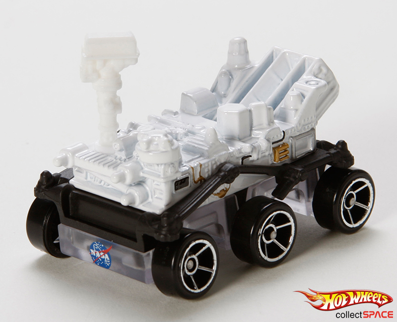 Mattel's Hot Wheels Mars Rover Curiosity