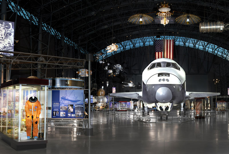 Smithsoneon Air and Space display