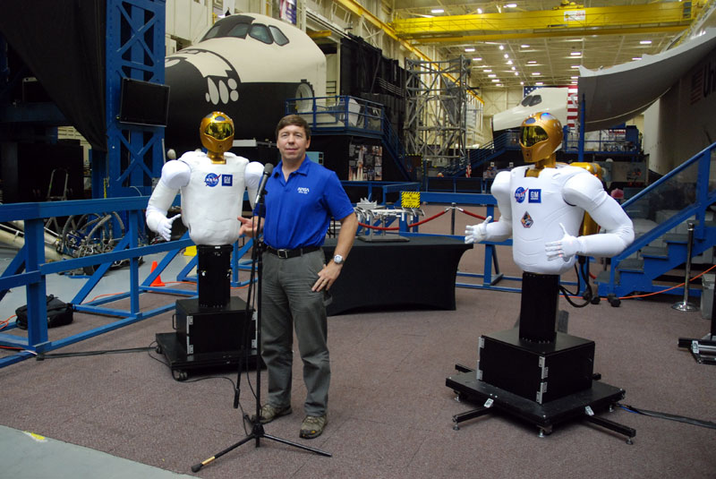 Robonaut readied to launch to the space station