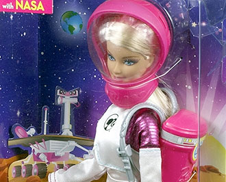 new nasa astronaut barbie - photo #3
