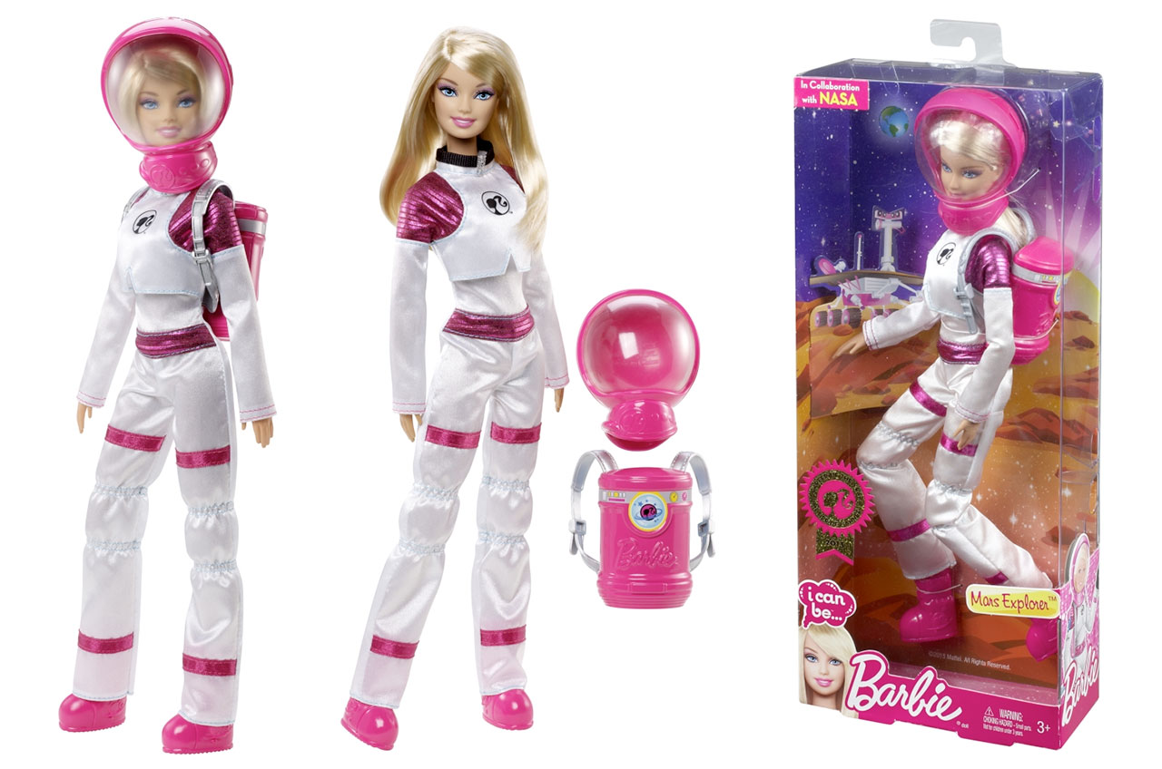 new nasa astronaut barbie - photo #1