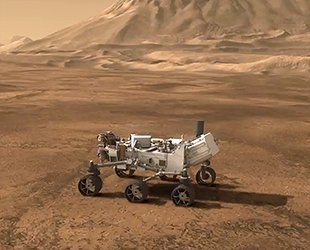 NASA's Curiosity lands on Mars: Car-sized rover to seek ...