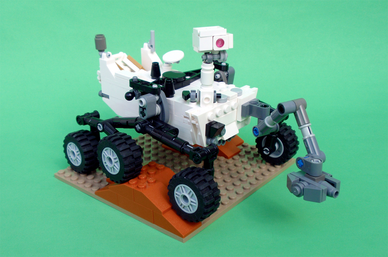 How to build your own LEGO Mars Curiosity rover | collectSPACE