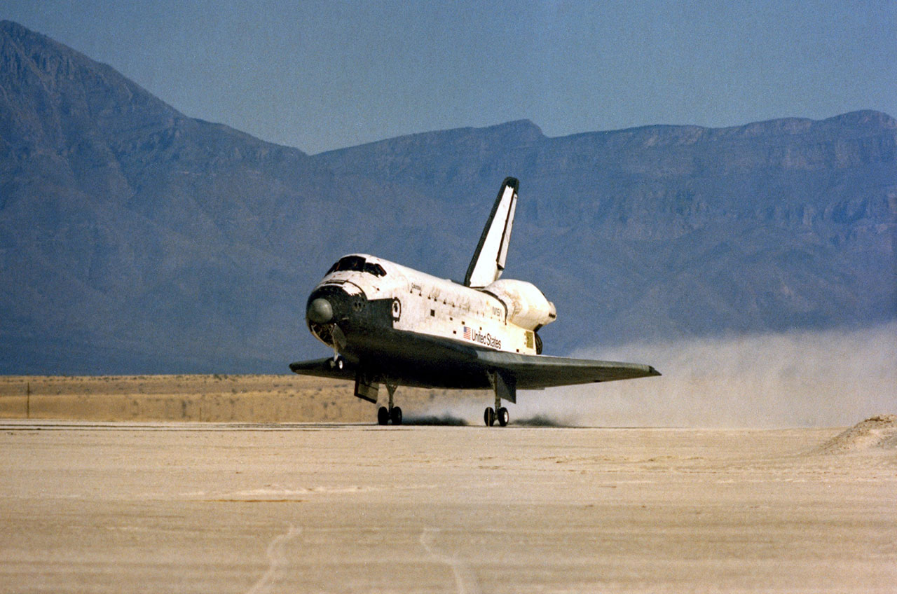 space shuttle landing white sands new mexico - photo #2