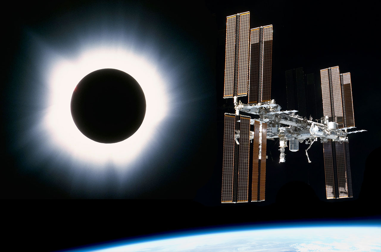lunar eclipse space station - photo #28