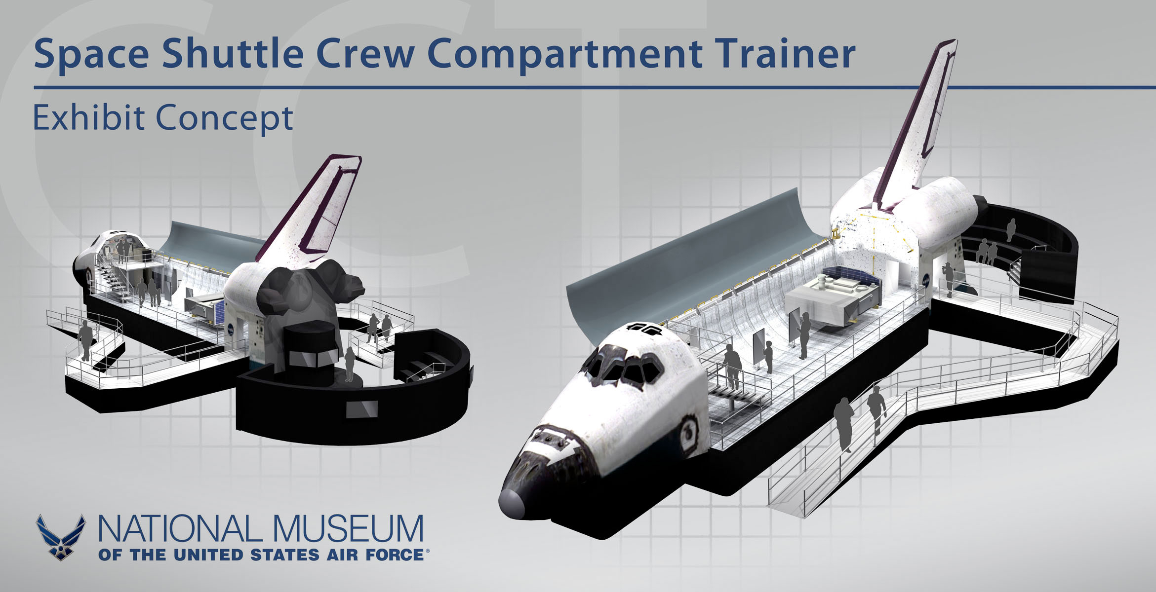 NASA Space Shuttle Trainer Lands At US Air Force Museum CollectSPACE - Air force museums in us