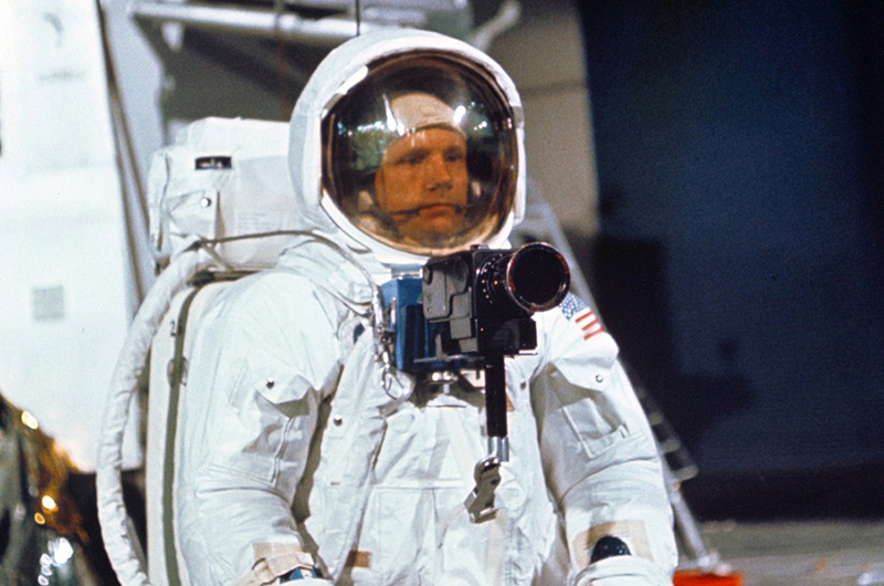 Neil Armstrong Helmet - Pics about space