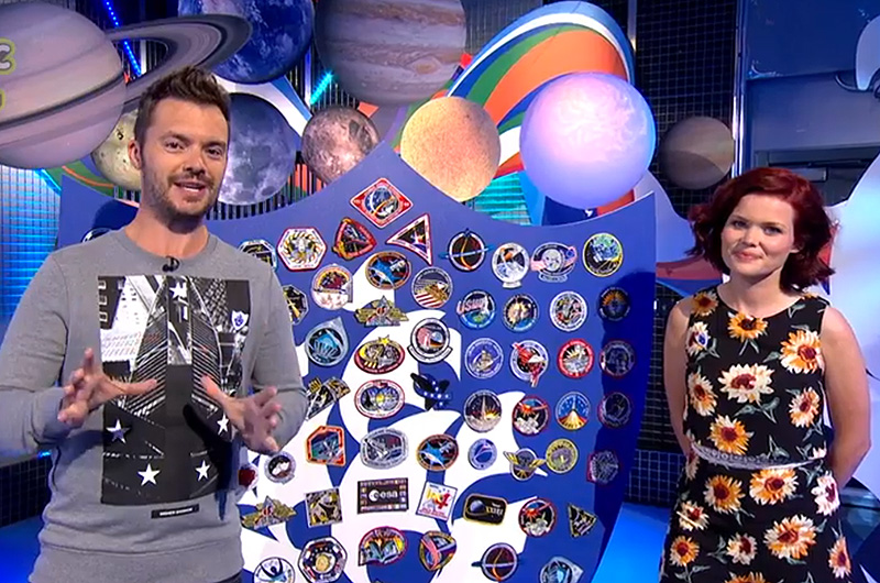UK TV show Blue Peter challenges kids to design space ...