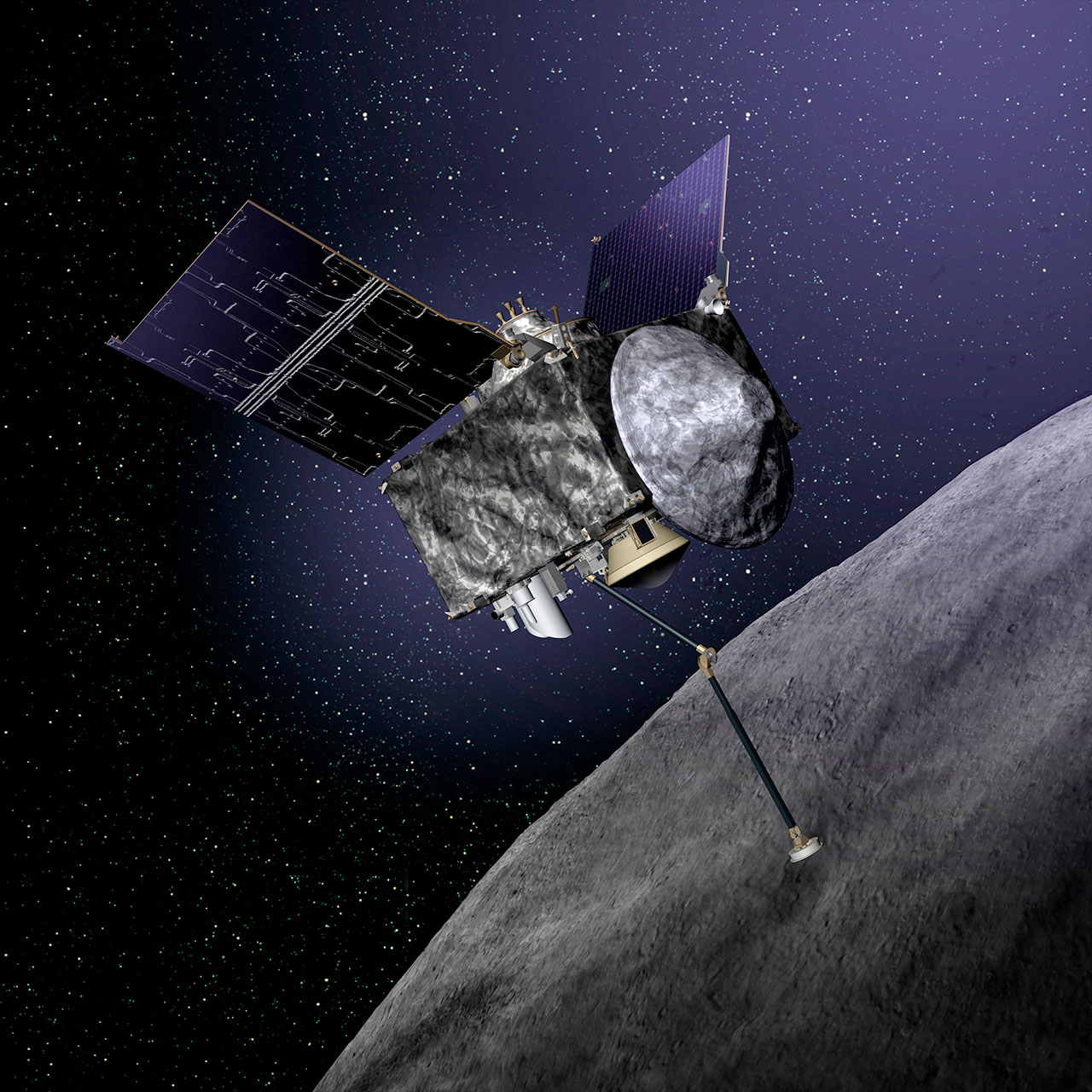 Japans new asteroid probe reaches its target after 32