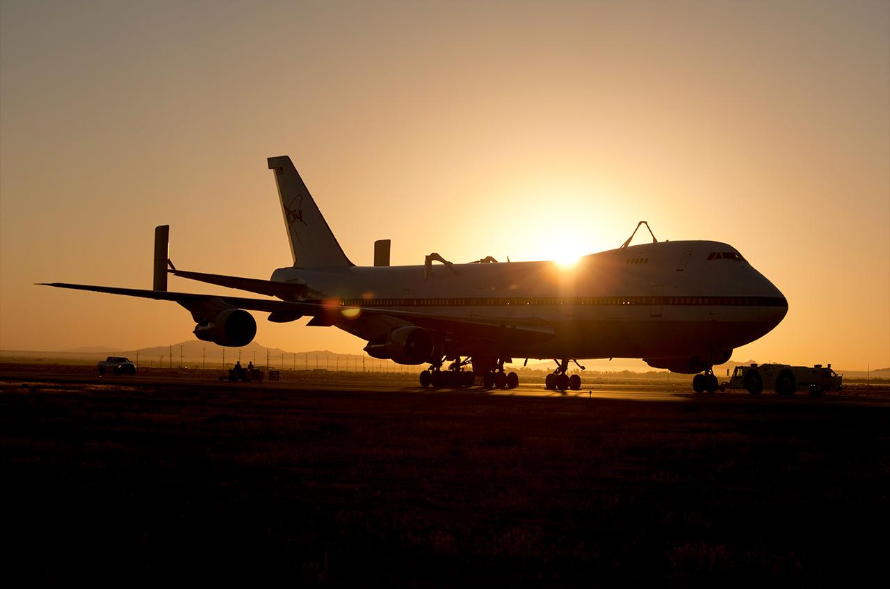 shuttle nasa sunrise - photo #3