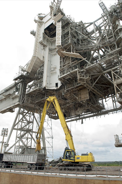 Photo Gallery Space Shuttle Launch Pad Cleaned Of