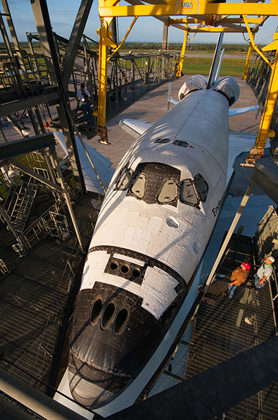 Space shuttle Endeavour set for final ferry flight to Calif., if weather allows