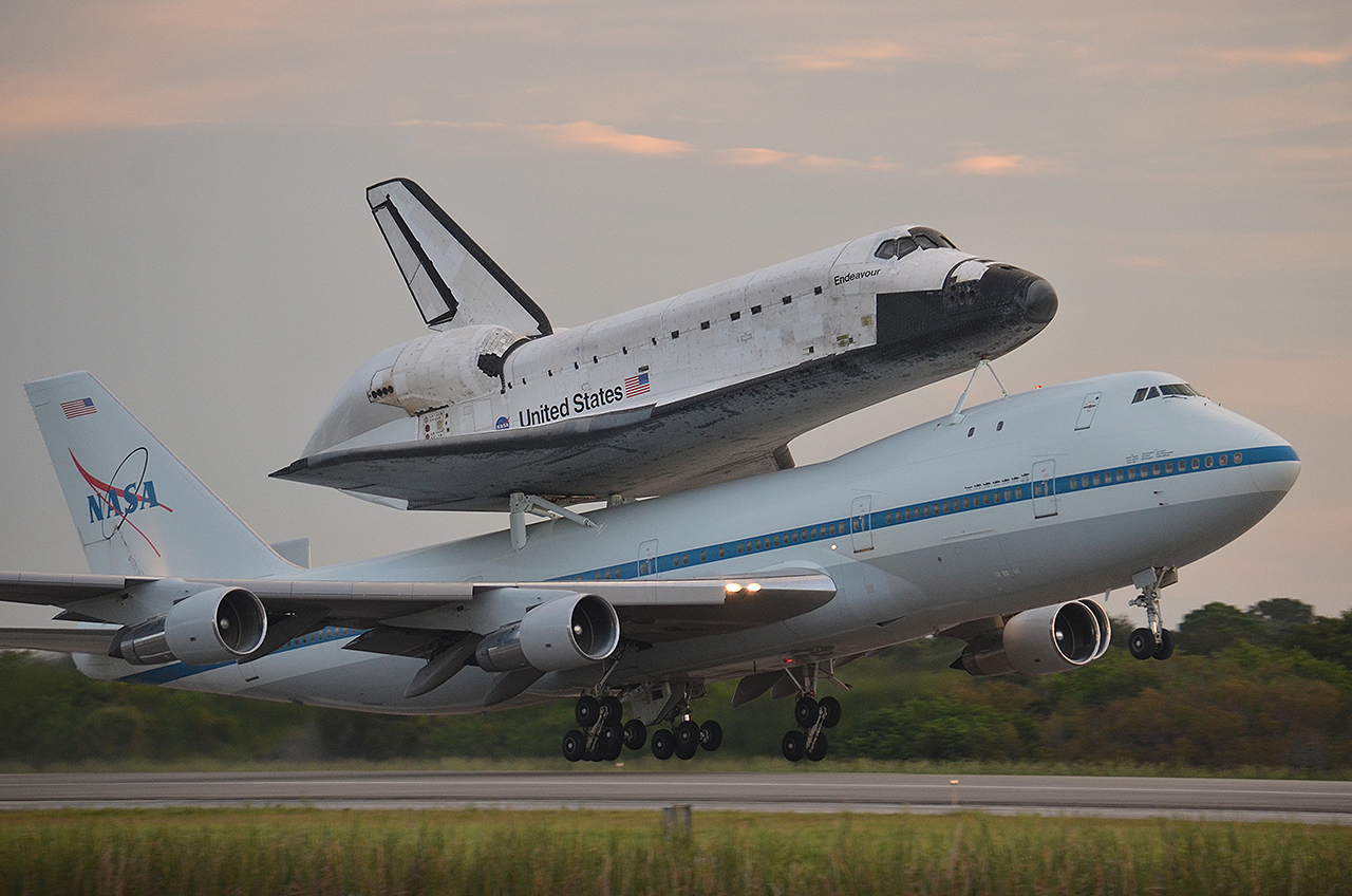 where is space shuttle endeavour - photo #20