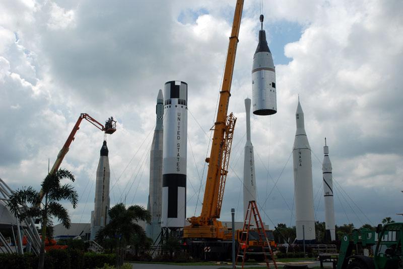 Photo Gallery Gemini Titan Rejoins Rocket Garden Collectspace