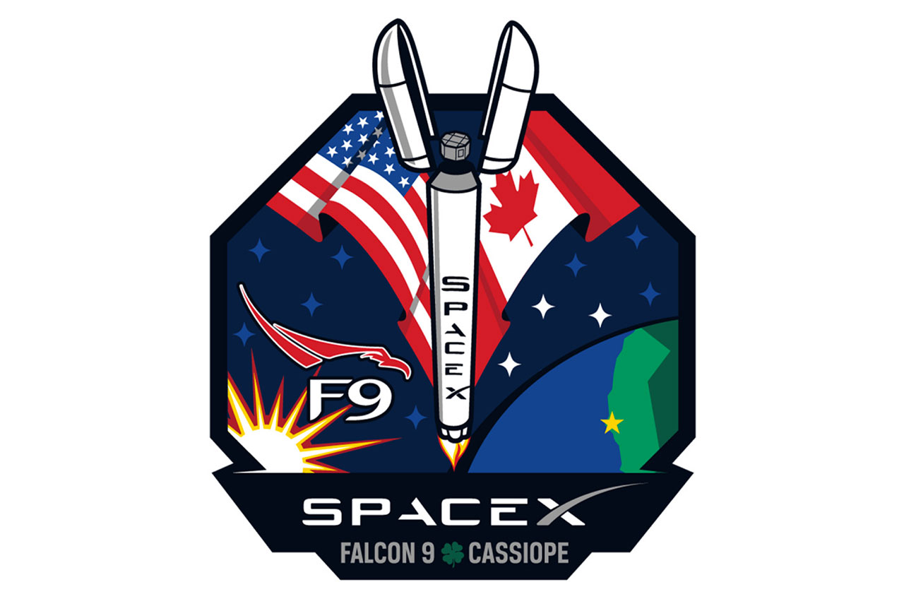 spacex launch of upgraded falcon rocket sets several