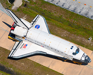 space shuttle top wing - photo #14