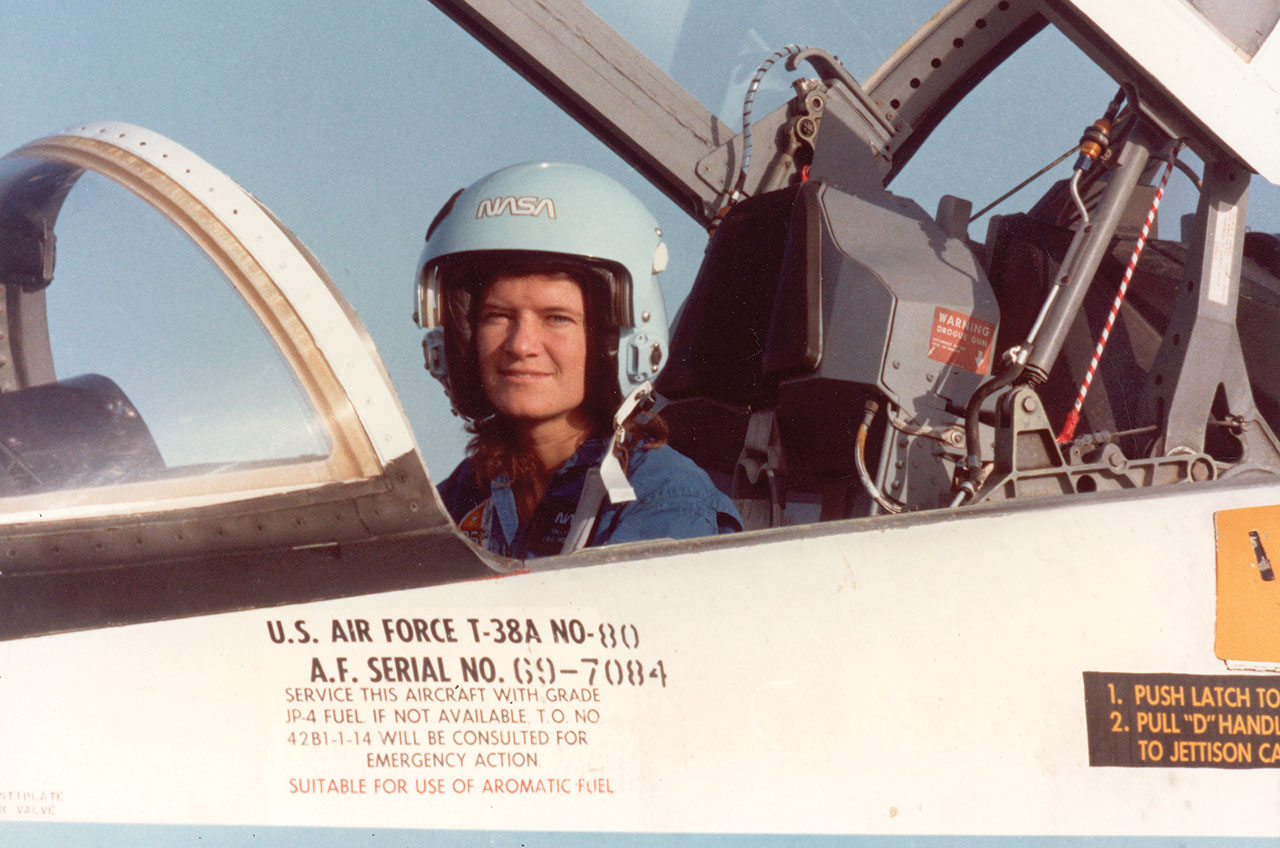 Sally Ride, First American Woman In Space, Is Dead | KCUR |Sally Ride Training