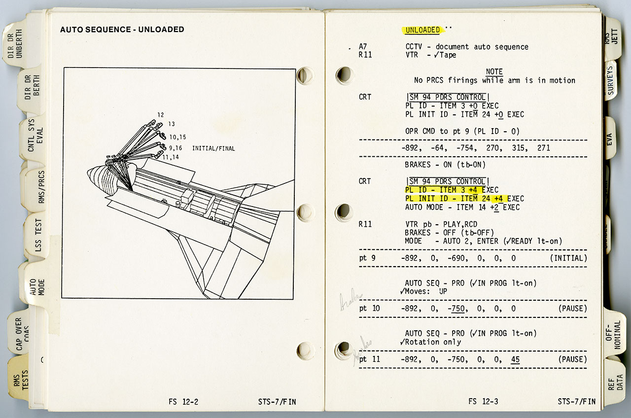 space shuttle mission simulator checklists - photo #34