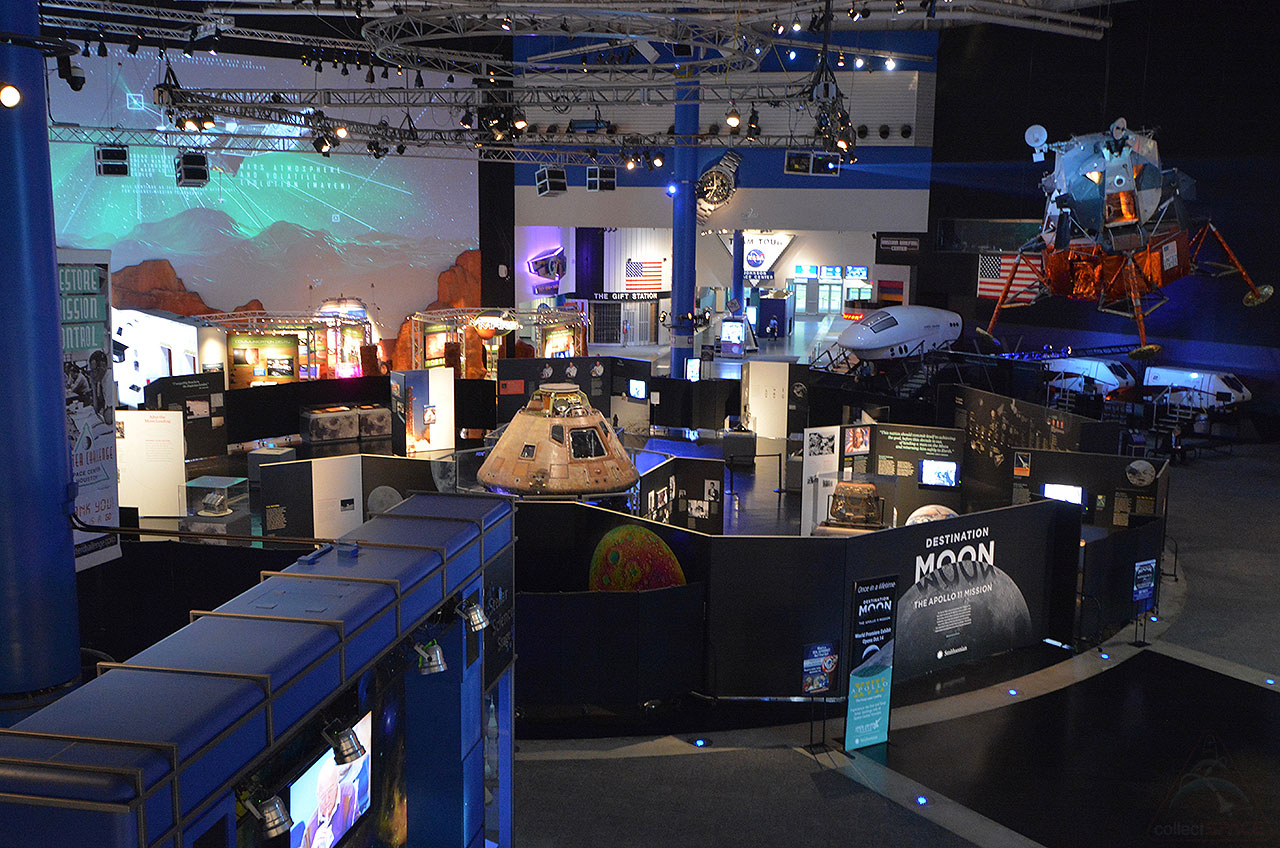 Destination moon the apollo 11 mission the smithsonians new traveling exhibition is ready to launch on saturday oct 14 at space center houston