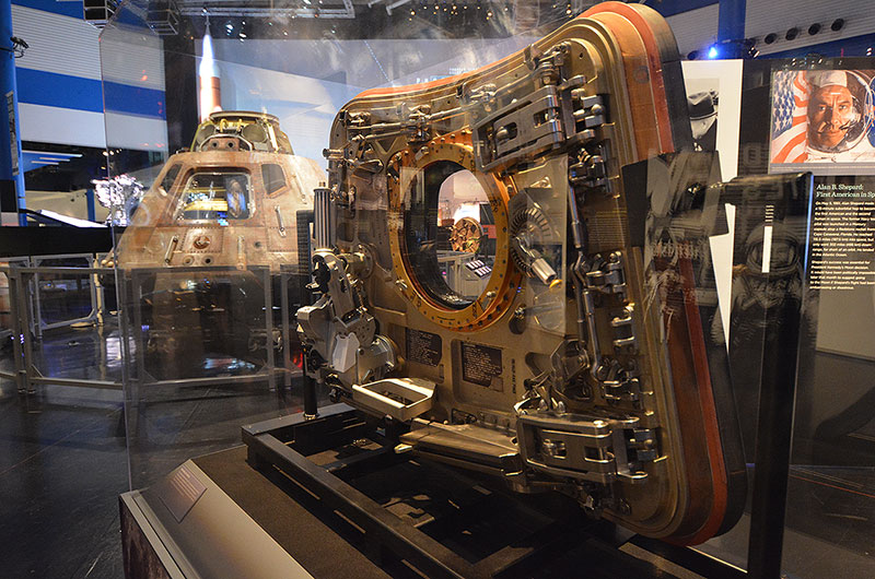 Apollo 11 Spacecraft Traveling Exhibit Lands At Space