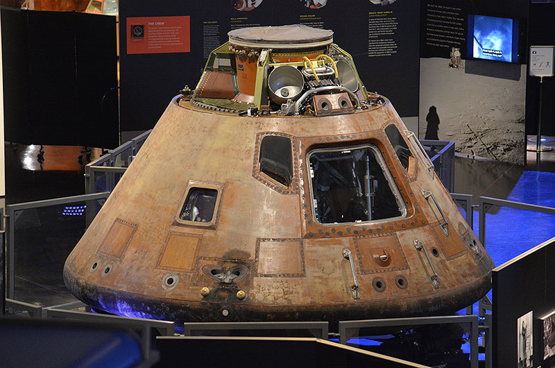Apollo 11 spacecraft traveling exhibit lands at Space ...