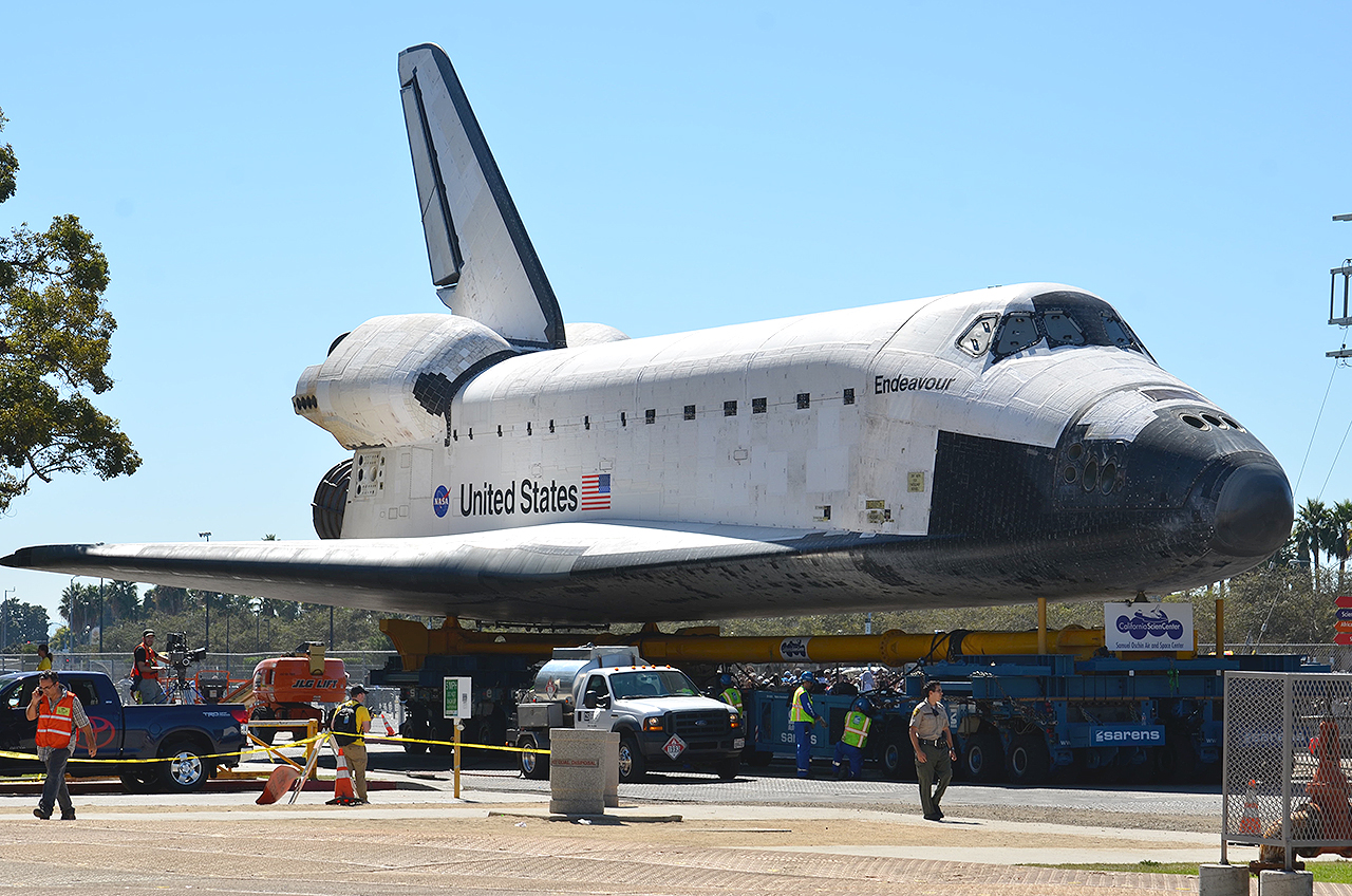 where is space shuttle endeavour - photo #40